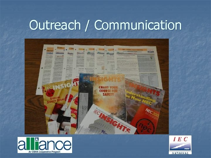Outreach / Communication