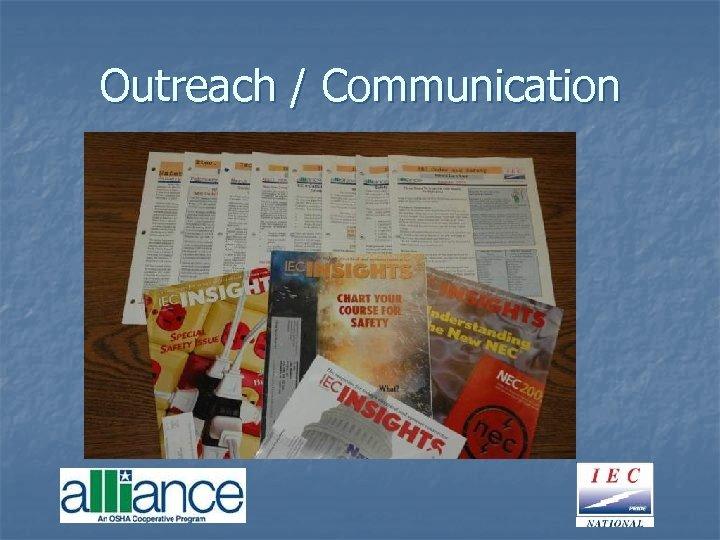 Outreach / Communication