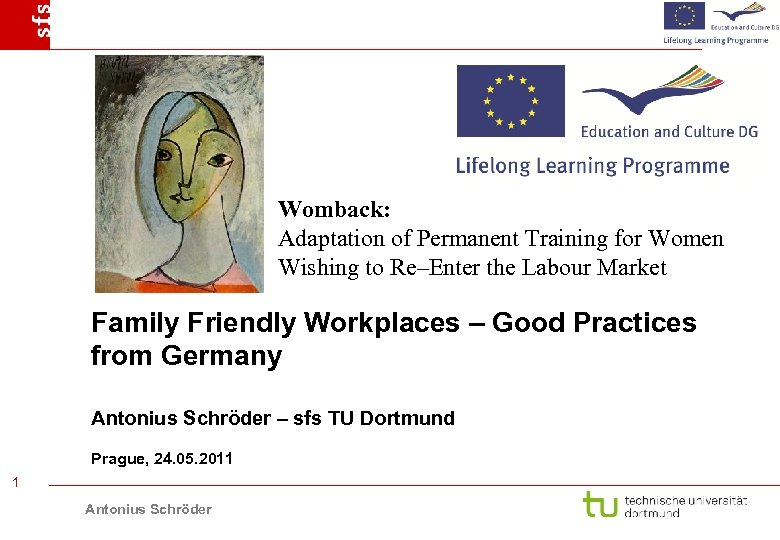 Womback: Adaptation of Permanent Training for Women Wishing to Re–Enter the Labour Market Family