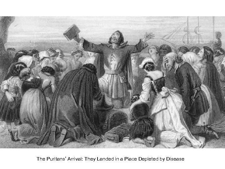 The Puritans' Arrival: They Landed in a Place Depleted by Disease