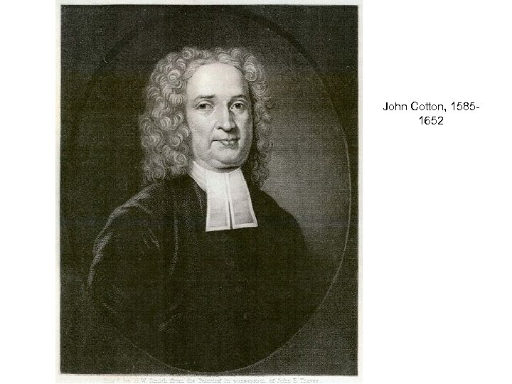John Cotton, 15851652