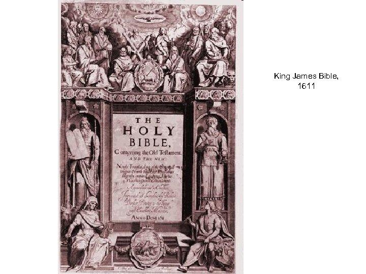 King James Bible, 1611