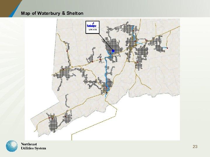 Map of Waterbury & Shelton 23
