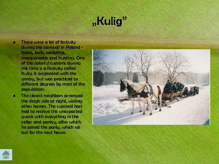 """""""Kulig"""" • • There were a lot of festivity during the carnival in Poland"""