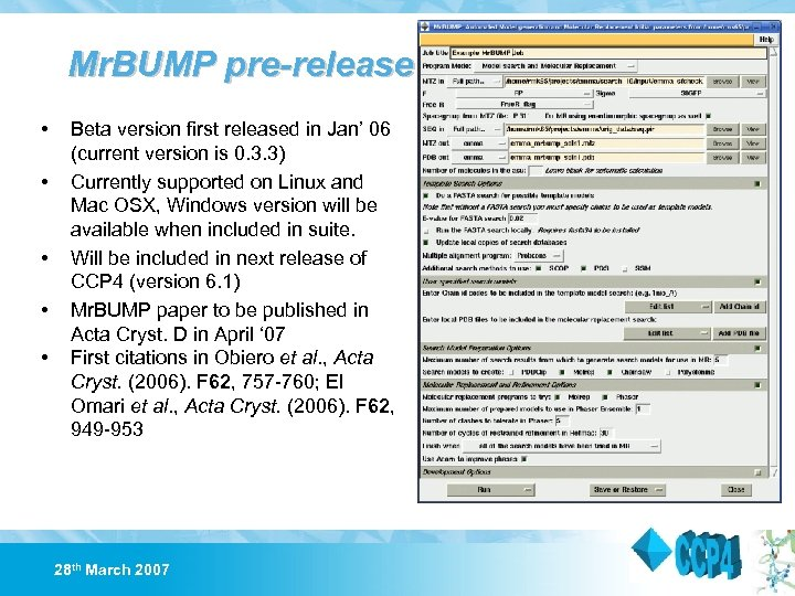 Mr. BUMP pre-release • • • Beta version first released in Jan' 06 (current