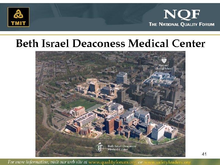 Beth Israel Deaconess Medical Center 41