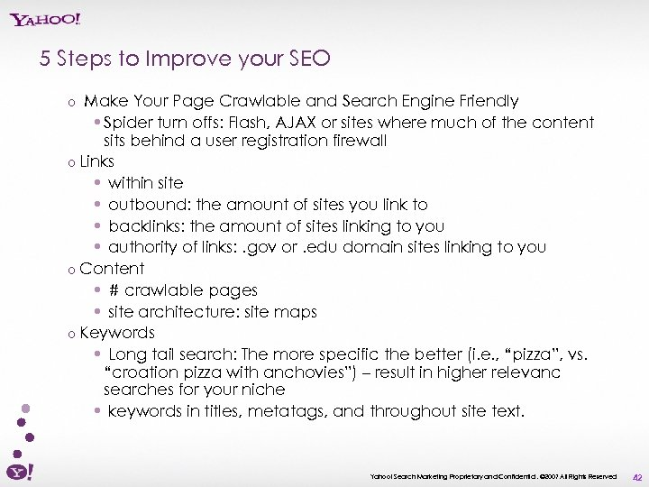 5 Steps to Improve your SEO Make Your Page Crawlable and Search Engine Friendly