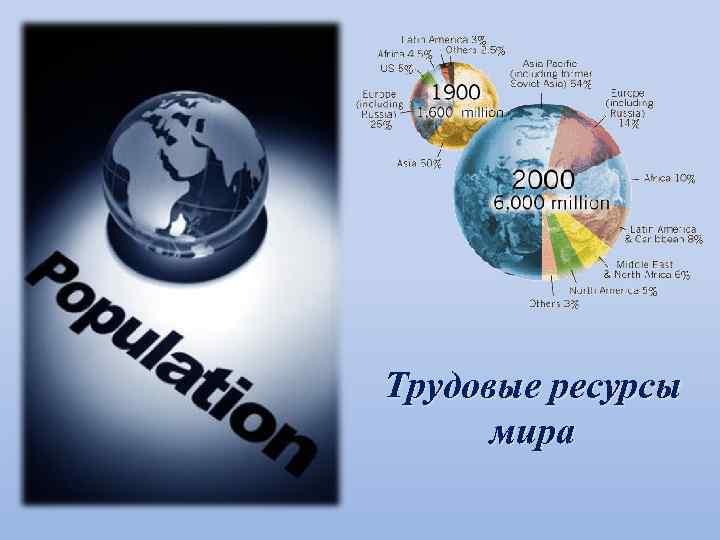 Трудовые ресурсы мира