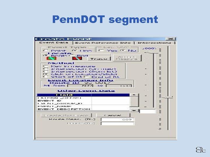 Penn. DOT segment