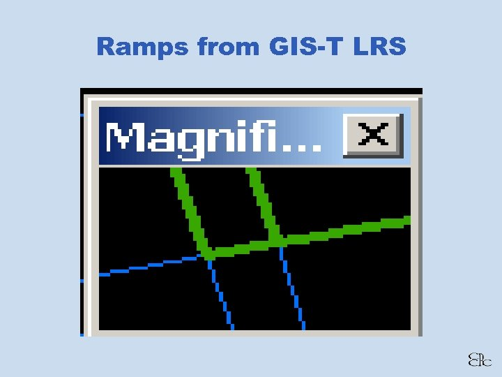 Ramps from GIS-T LRS