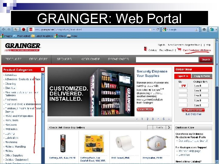 GRAINGER: Web Portal
