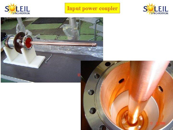 Input power coupler