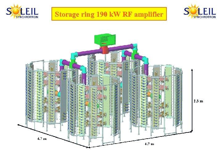 Storage ring 190 k. W RF amplifier