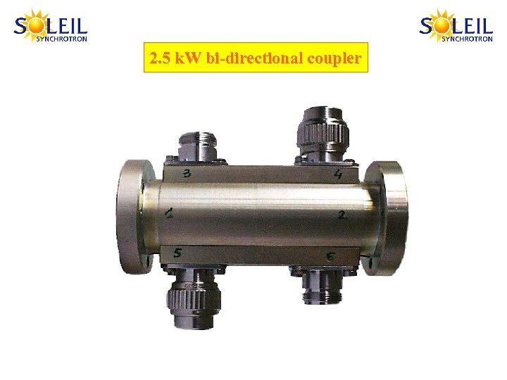 2. 5 k. W bi-directional coupler