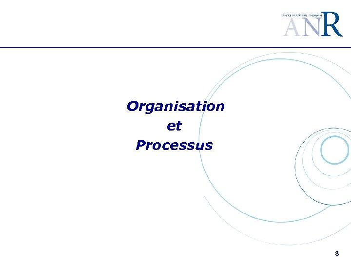 Organisation et Processus 3