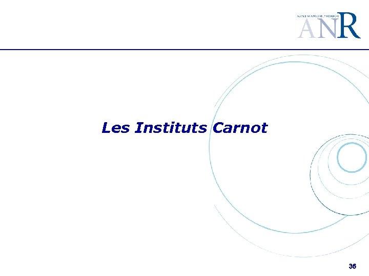 Les Instituts Carnot 36