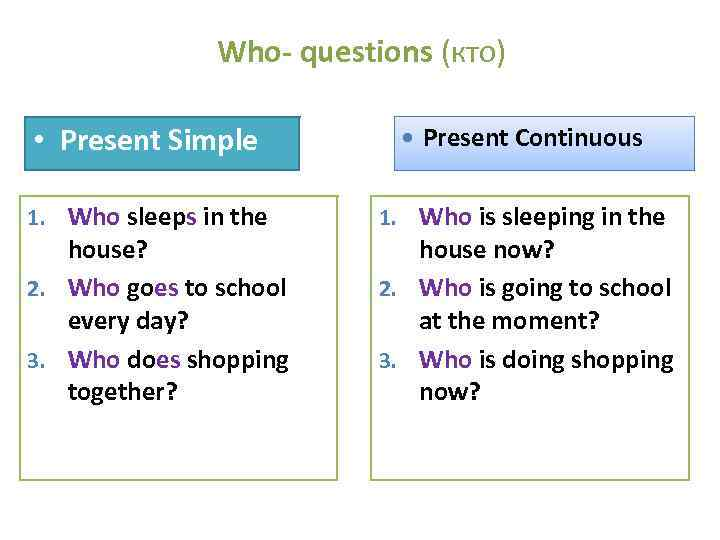 Simple Present or Present ProgressiveContinuous Exercise