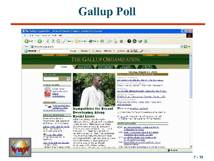 Gallup Poll 7 - 35