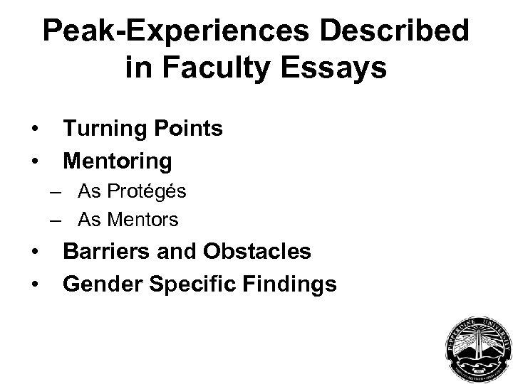 peak experience essay Buy college essays buy critical essay buy custom essay essay paper essay writing exam writing  peak experience and strategic it alignment at vermont teddy bear.