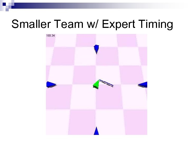 Smaller Team w/ Expert Timing