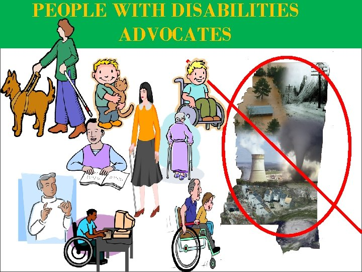 PEOPLE WITH DISABILITIES ADVOCATES