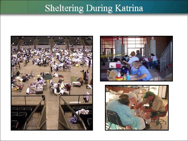 Sheltering During Katrina