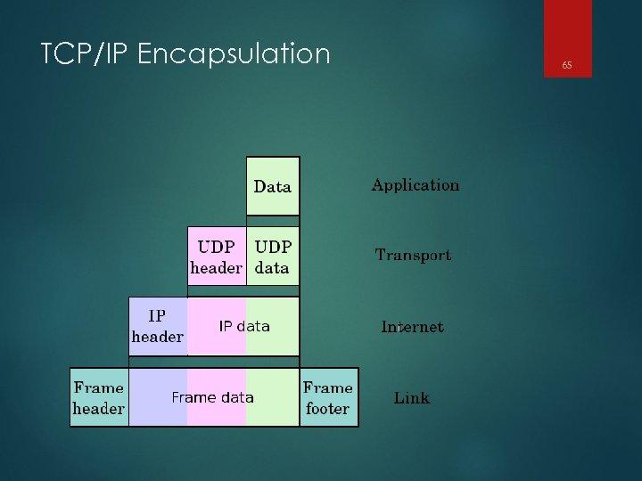 TCP/IP Encapsulation 65
