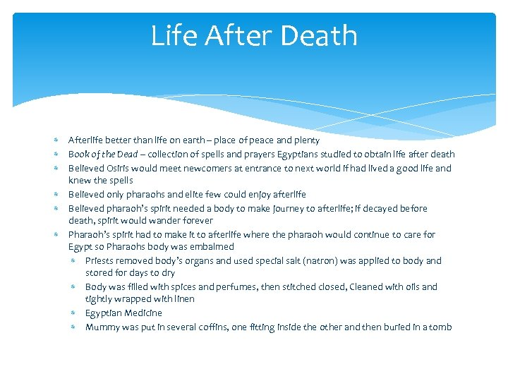 Life After Death Afterlife better than life on earth – place of peace and