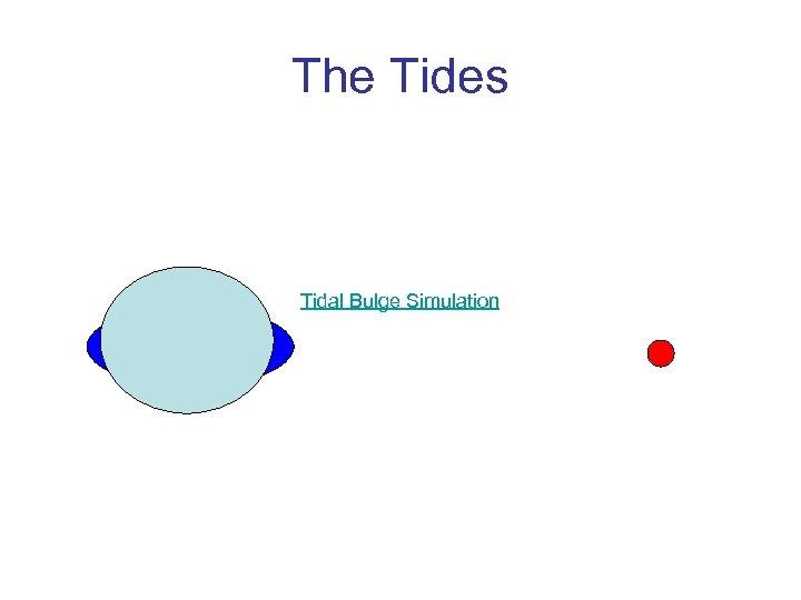 The Tides Tidal Bulge Simulation