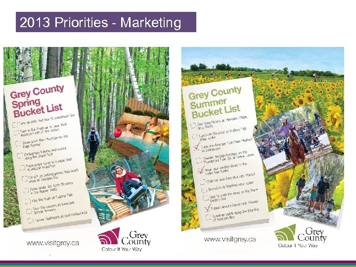 2013 Priorities - Marketing 19