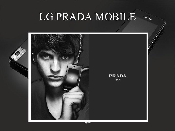 LG PRADA MOBILE