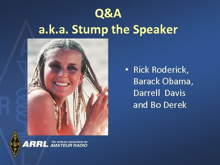 Q&A a. k. a. Stump the Speaker • Rick Roderick, Barack Obama, Darrell Davis