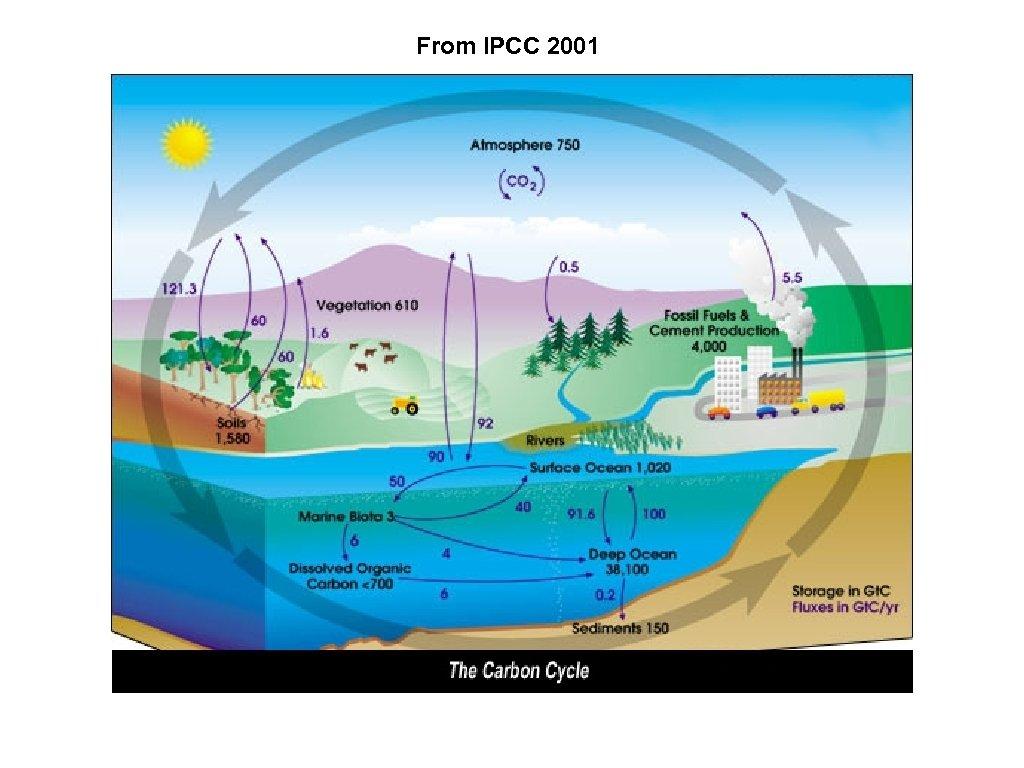 From IPCC 2001