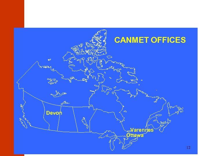 CANMET OFFICES Devon Varennes Ottawa 12