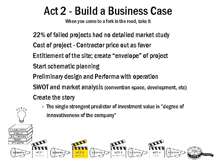 Act 2 - Build a Business Case When you come to a fork in