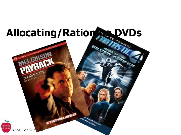 Allocating/Rationing DVDs Economics for Leaders