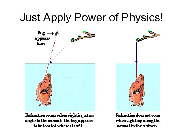 Just Apply Power of Physics!