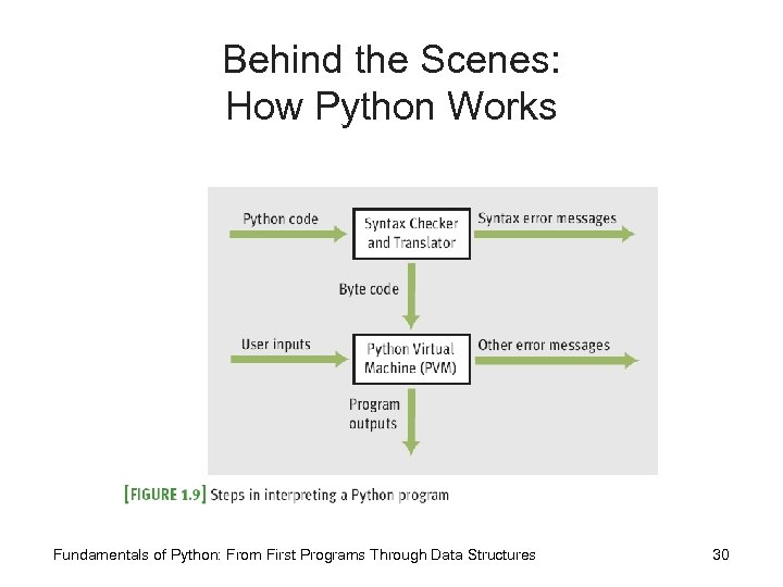 Behind the Scenes: How Python Works Fundamentals of Python: From First Programs Through Data