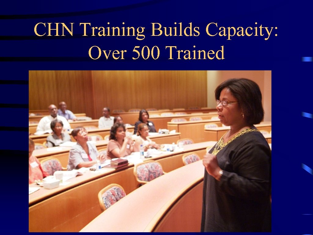 CHN Training Builds Capacity: Over 500 Trained