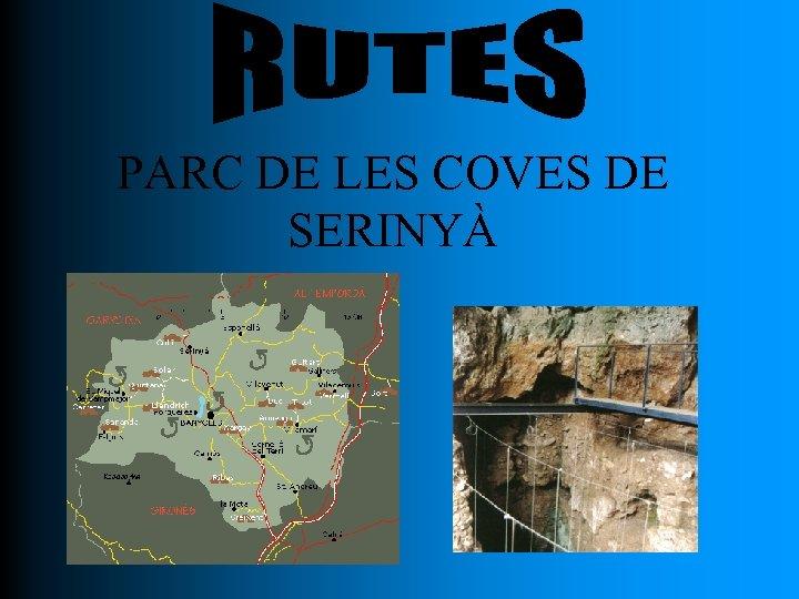 PARC DE LES COVES DE SERINYÀ
