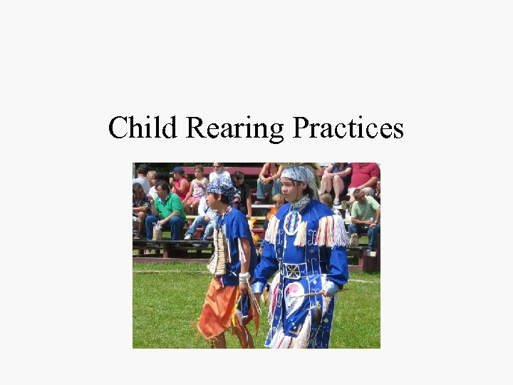 Child Rearing Practices