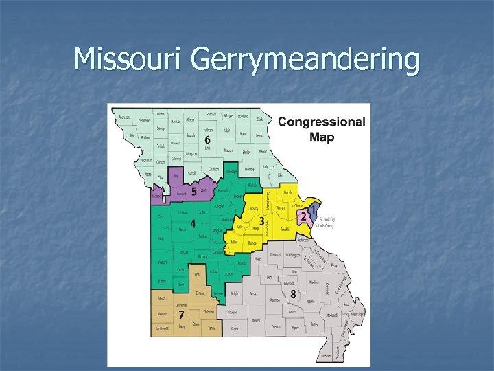 Missouri Gerrymeandering