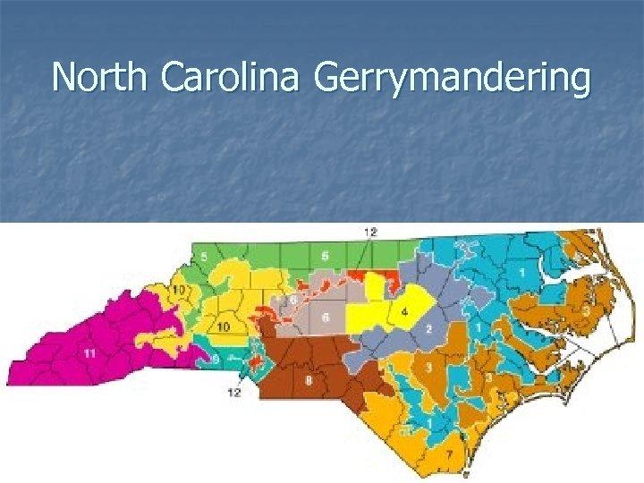 North Carolina Gerrymandering