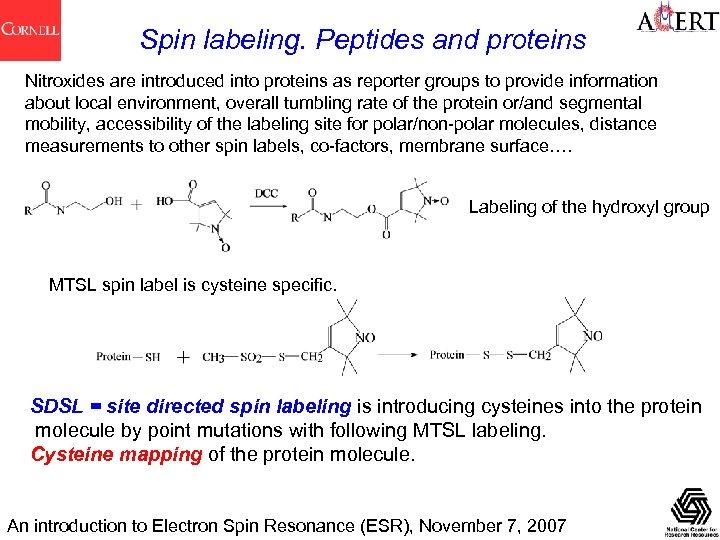 An Introduction to Electron Spin Resonance ESR Boris