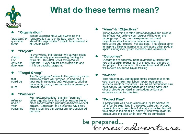 """What do these terms mean? l """"Organisation"""" l These two terms are often interchangeable"""