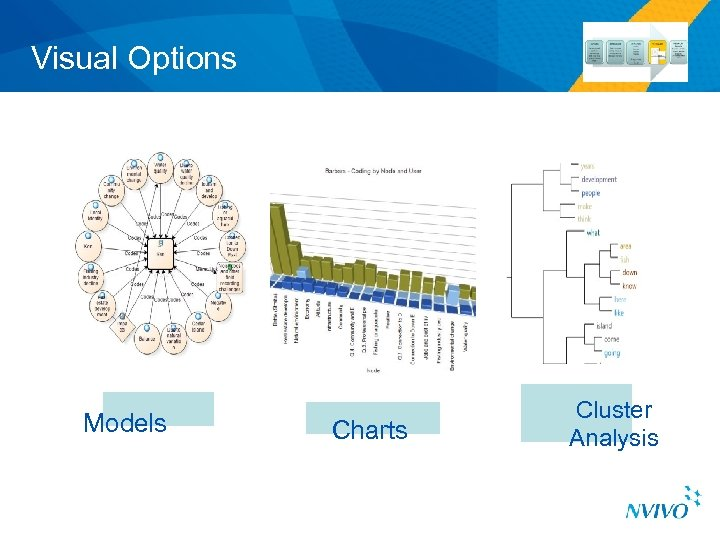 Visual Options Models Charts Cluster Analysis