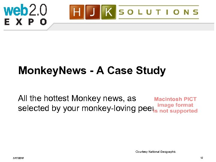 Monkey. News - A Case Study All the hottest Monkey news, as selected by