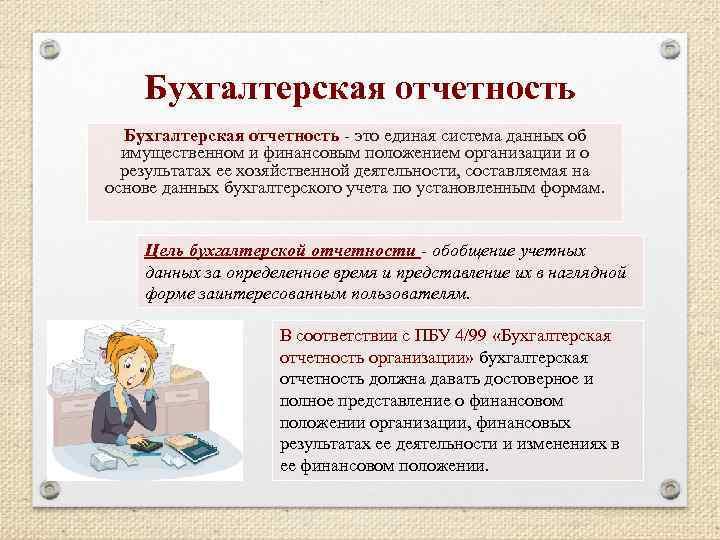 Бухгалтерская Отчетность Шпаргалка