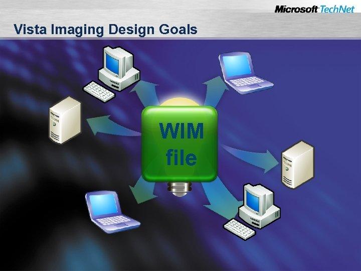 Vista Imaging Design Goals WIM file
