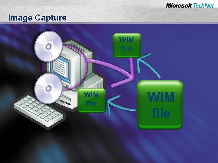 Image Capture WIM file